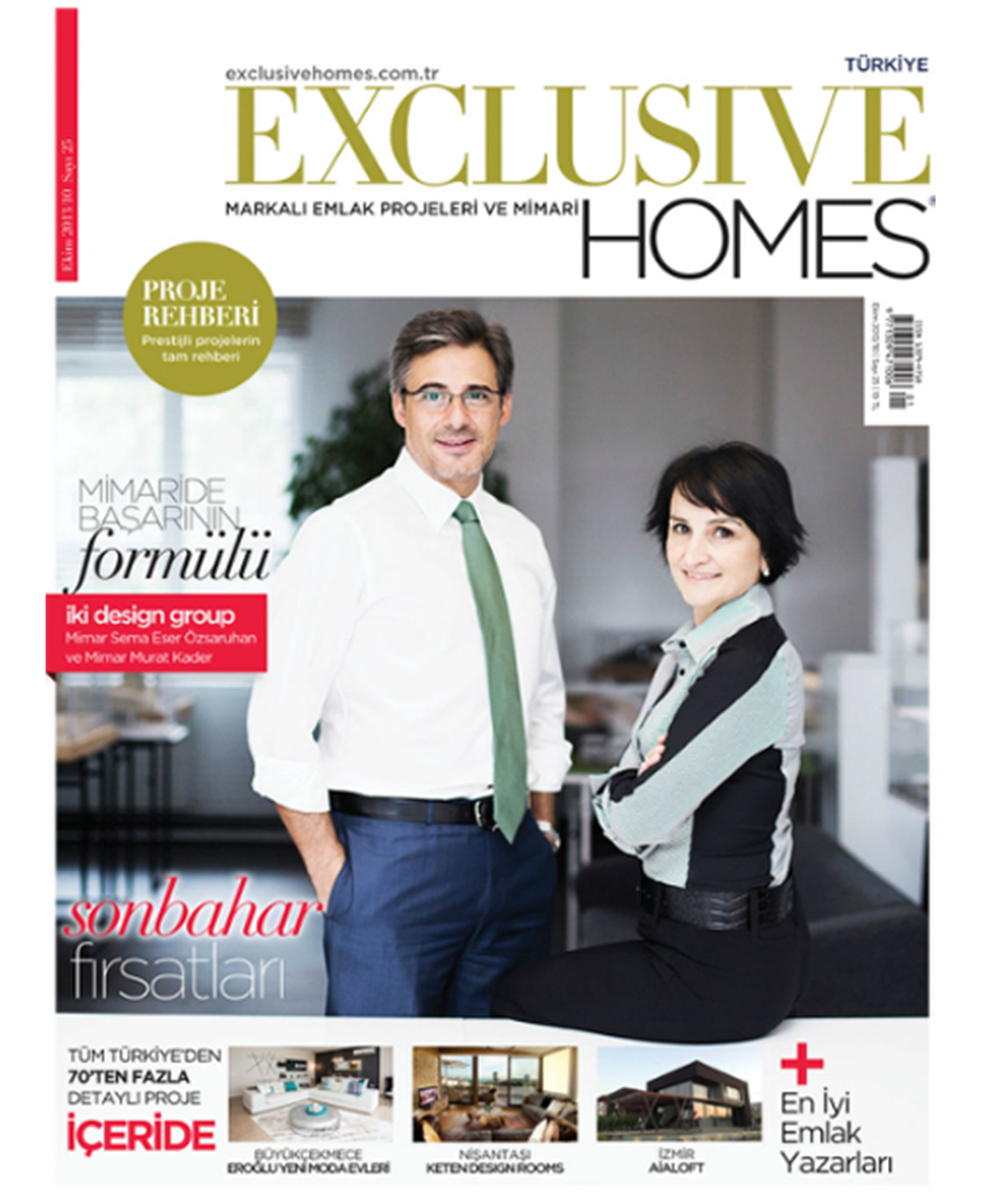 Exclusive Homes Ekim '13