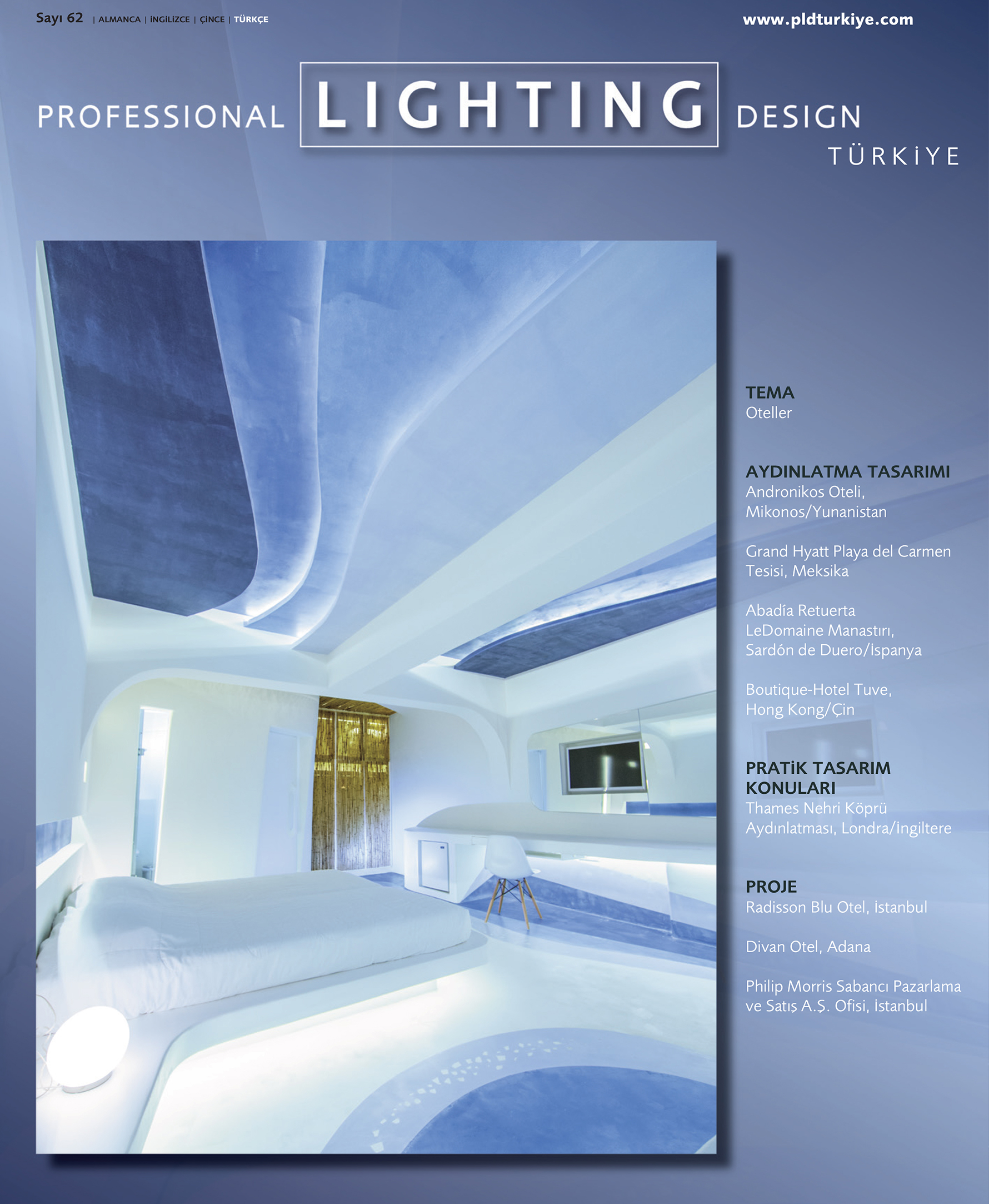 Professional Lighting Design Sayı:62